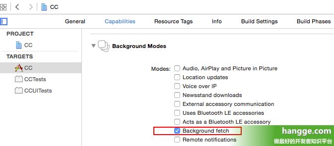 Swift - 后台获取数据(Background Fetch)的实现