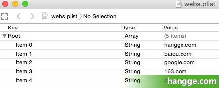 原文:Swift - .plist文件数据的读取和存储