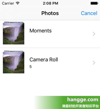 原文:Swift - 从相册中选择照片并上传(使用UIImagePickerController)