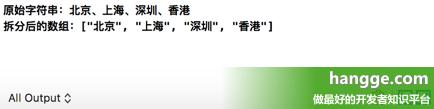 原文:Swift - 将字符串拆分成数组(把一个字符串分割成字符串数组)