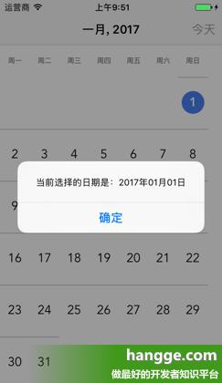 原文:Swift - 第三方日历组件CVCalendar使用详解1(配置、基本用法)