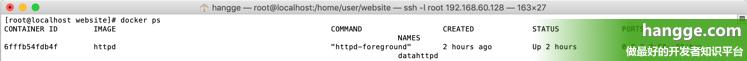 原文:Docker - 在容器中运行Apache服务器(httpd)