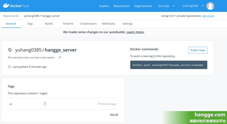 原文:Docker - 将制作好的镜像上传到Docker Hub仓库(附操作步骤)