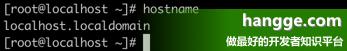 原文:CentOS - 修改主机名教程(将 localhost.localdomain 改成其它名字)