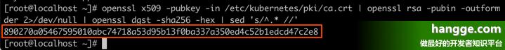 原文:K8s - 重新生成token以及hash值(解决令牌过期的问题)