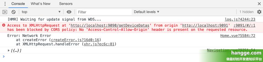 原文:SpringBoot - 解决跨域请求问题(No 'Access-Control-Allow-Origin' header is...)