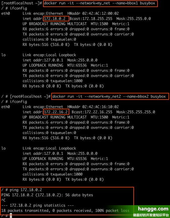 原文:Docker - 网络使用详解3(容器间的相互通信:IP、容器名、joined容器)