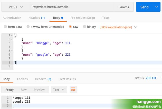 原文:SpringBoot - 获取POST请求参数详解(附样例:表单数据、json、数组、对象)