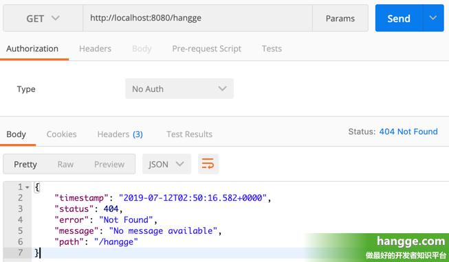 原文:SpringBoot - 自定义错误页1(基础:配置404等错误的静态页面、动态模版页面)