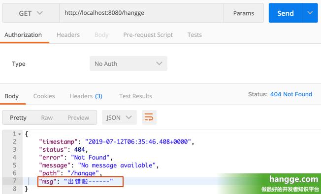 原文:SpringBoot - 自定义错误页3(高级:完全自定义Error数据、Error视图)