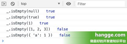 原文:JS - Lodash工具库的使用详解16(判断是否为空)